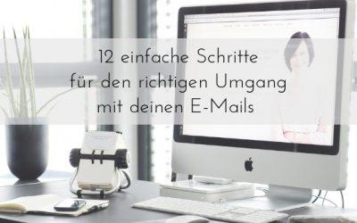 Endlich das E-Mail-Aufkommen im Griff haben. Teil #1