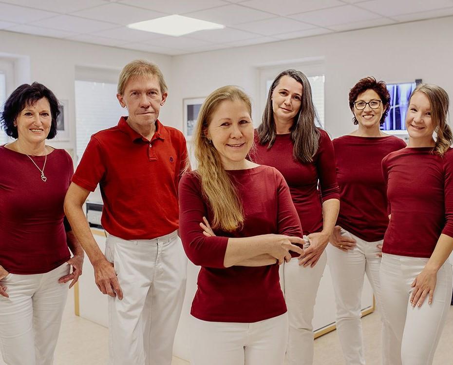 DDr. Wessig und ihr Team